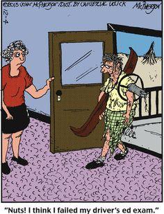 Close to Home Comic Strip, December 04, 2015     on GoComics.com