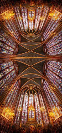 The beauty of France - from Trey Ratcliff at http://www.StuckInCustoms.com  Saint Chapelle, gorgeous.