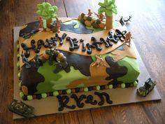 army man cake