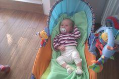 piekne zdjęcie od klientów :)))- śliczna Lenka na tle bambusowej podłogi