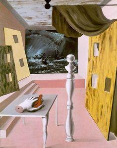 The difficult crossing - Rene Magritte René Magritte 1898 - 1967 🎯🎯🎨🎭 More… Rene Magritte, Conceptual Art, Surreal Art, Kandinsky, Magritte Paintings, Modern Art, Contemporary, Max Ernst, Art Moderne