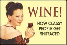 Wine how classy people get  funny towel by Ficklepicklefun on Etsy, $8.00