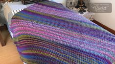 Ravelry: Study of Transition Afghan pattern by Michael Sellick Afghan Crochet Patterns, Crochet Stitches, Stitch Patterns, Crochet Afghans, Crochet Blankets, Crochet Crowd, Crochet Baby, Free Crochet, Crochet Crafts