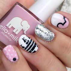 These Disney nails are so cute!