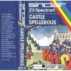 Castle Spellerous for Spectrum by Blackboard Software/Sinclair on Tape
