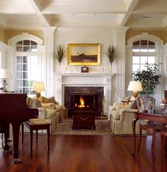 Traditional Living Room Fireplace Mantel Design, Pictures, Remodel, Decor and Ideas - page 388