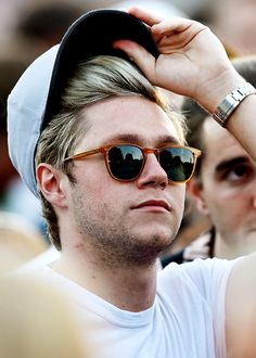 Niall Horan at the Barclaycard Presents British Summer Time Festival in Hyde Park on July 8, 2016 in London, England.
