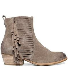 Let the fringe fly with Vince Camuto booties