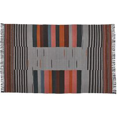 Shop Gradient Grey Wool Rug An homage to vintage Peruvian rug makers, our handwoven wool flatweave stripes an earthy palette into a graphic masterpiece underfoot. Woven on a traditional pit loom for authenticity and quality—we took one modern l Grey Shag Rug, Wool Runners, Modern Area Rugs, Geometric Rug, Jute Rug, Red Rugs, Decoration, Wool Rug, Authenticity