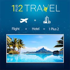 Mix & match companies for the best price with our flight + hotel feature! #TravelTuesday http://1plus2travel.com/