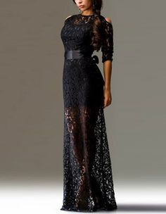 Gender: Female Age Group: Adult Color:black Pattern: lace Material: polyester Get stunning look in this season from FadCover huge latest and most fashionable selections of fashion dresses online. You