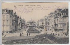 (16644) AK Ostende, Oostende, L'Avenue Leopold et le Kursaal, gel. 1917