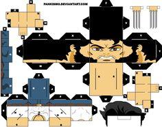 iron man cubeecraft   Muñecos para armar.. [CubeeCraft] - Taringa!