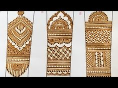 Henna Mehndi for Beginners Types of Arm Mehendi Designs, How to draw different types of Mehndi designs for Arms, Bridal Henna Mehandi designs for Arms, Learn.