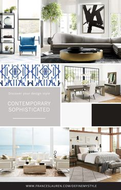 Contemporary Sophisticated Style Interior Design, Take Our Quiz To Discover  Your Interior Design Style And