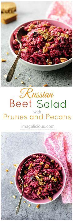 Russian Beet Salad w