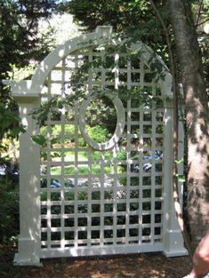 Lattice Screen, Lattice Fence, Trellis Fence, Garden Trellis, Fence Design, Garden Design, Lattice Design, Patio Design, Garden Art