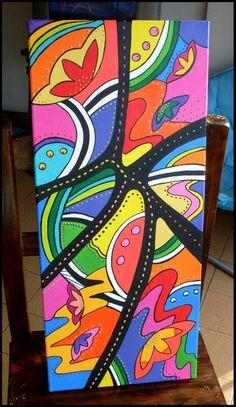 pintura acrilica 50x100. https://www.facebook.com/GoodLifePinturas