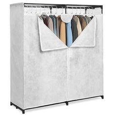 Canvas 60 In. Extra-Wide Clothes Closet 001474950(WFS40)