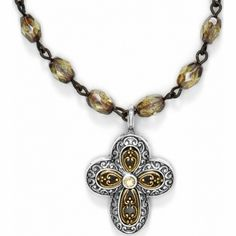 available at #BrightonCollectibles Via Delorosa Cross Necklace