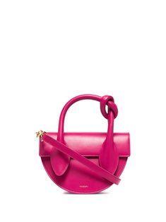 Tote Handbags, Purses And Handbags, Pink Leather, Leather Bag, Vintage Handbags, Bag Making, Leather Purses, Shoulder Strap, Tote Bag