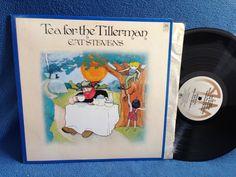 """Vintage Cat Stevens - """"Tea For The Tillerman"""" Vinyl LP Record Album Where Do The Children Play Wild World Hard Headed Woman"""