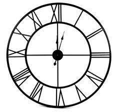 Res tillbaka i tiden med en ny klocka. Old style har romerska siffror och en gammaldags design.