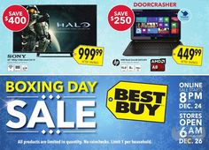 Best Buy Boxing Day Flyer Released! (Sales On 24 28 Dec 2014) Photo