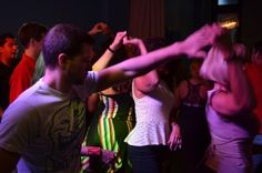 Latin Night At Ice Martini Bar #prettylights #salsa #dancing