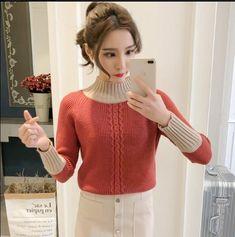 winter sweater women high collar sweater female thick sweater 2017 new twist pattern warm pullover