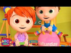 The Days of the Week Song - ABCkidTV - YouTube