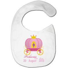 Baby Bib Newborn Bib baby Girl bib Appliqué by BabysPreciousGifts