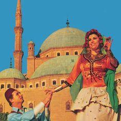 فريدة فهمي و محمود رضا   صفحة انتيكا على الفيسبوك