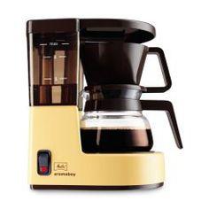 Filterkaffeemaschine Aromaboy beige-braun