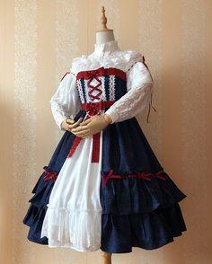 Honey Fox -Snow White- Classic Lolita OP Dress