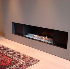 Modern Fireplace Designs Ideas with Bio Ethanol Fuel - HomeHouseDesign . Biofuel Fireplace, Bioethanol Fireplace, Fireplace Wall, Floating Fireplace, Decorative Fireplace, Fireplace Ideas, Contemporary Fireplace Designs, Modern Contemporary, Modern Fireplaces