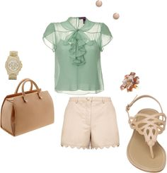 summer lunch, created by coolbreezer on Polyvore