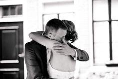Reactie bruidegom bij ontmoeting bruid | ThePerfectWedding.nl