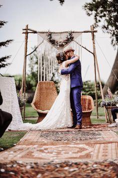 Field Wedding, Blue Wedding, Dream Wedding, Wedding Ceremony Arch, Tent Wedding, Festival Wedding, Boho Festival, Wedding Theme Inspiration, Bridal Musings