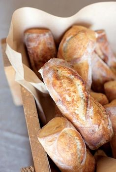 Bread - Home Made - Wood - Caprina by Canus - Olive Oil & Wheat Protein