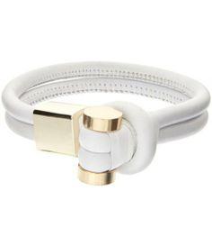 Leather Knot Bracelet//