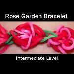 Rainbow Loom® Rose Garden Armband