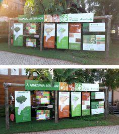 """Exposição """"A Amazônia está aqui"""" do Imaflora e Florestas de Valor"""