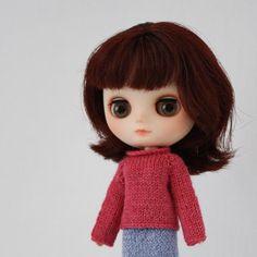 (6) Name: 'Knitting : Ren Sweater for Blythe