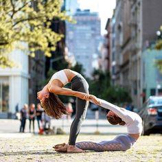 #yoga with friends @adellbridgesyoga, @aminataha & @aloyoga : @sfreneenyc.. Thanks - IG/yogainspiration