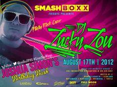 SMASHBOXX Ultra Club – FRIDAY Night Lights – 08.17.2012