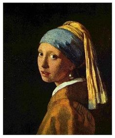 A small new obsession, beautiful portraits- The Girl with a pearl earring-Johannes Vermeer