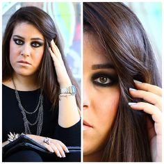 #makeup #instamakeup #fotd #faceoftheday #fashion #italiangirl #instaitaly #scattiitaliani #black #chain #stud #studdedbracelets #followme #followforlikes #followforfollow #likesforlikes #likesforfollow #luigia #luisa