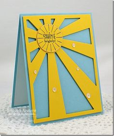 cateredcrop_2013aug8 Lisa Johnson, Stars And Moon, Sun Moon, Star Sky, You Are My Sunshine, Bunt, Cardmaking, Birthday Cards, Paper Crafts