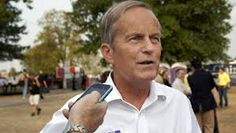 "Todd Akin, ""If it's a legitimate rape, the female body has ways to try to shut that whole thing down."""